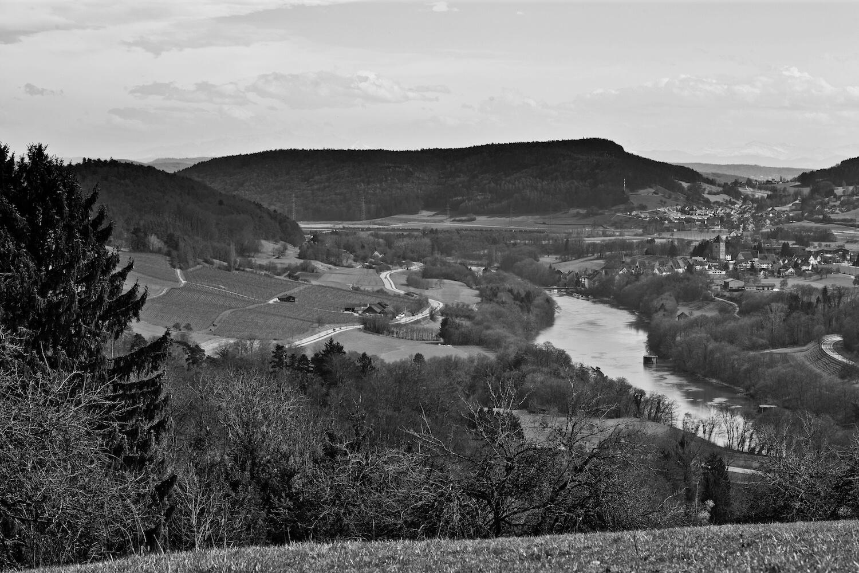 Landschaft Engelberg sw Kopie