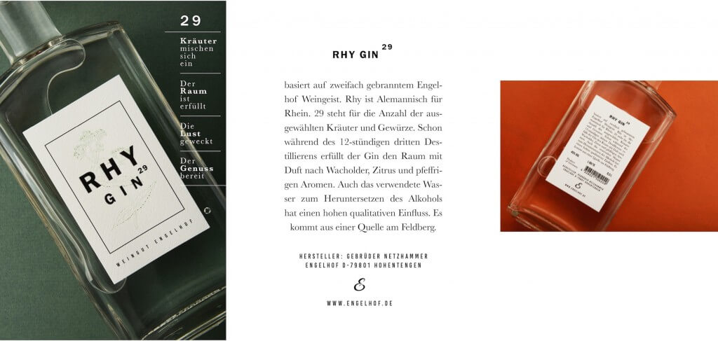 Rhy Gin Neuheit Original copy
